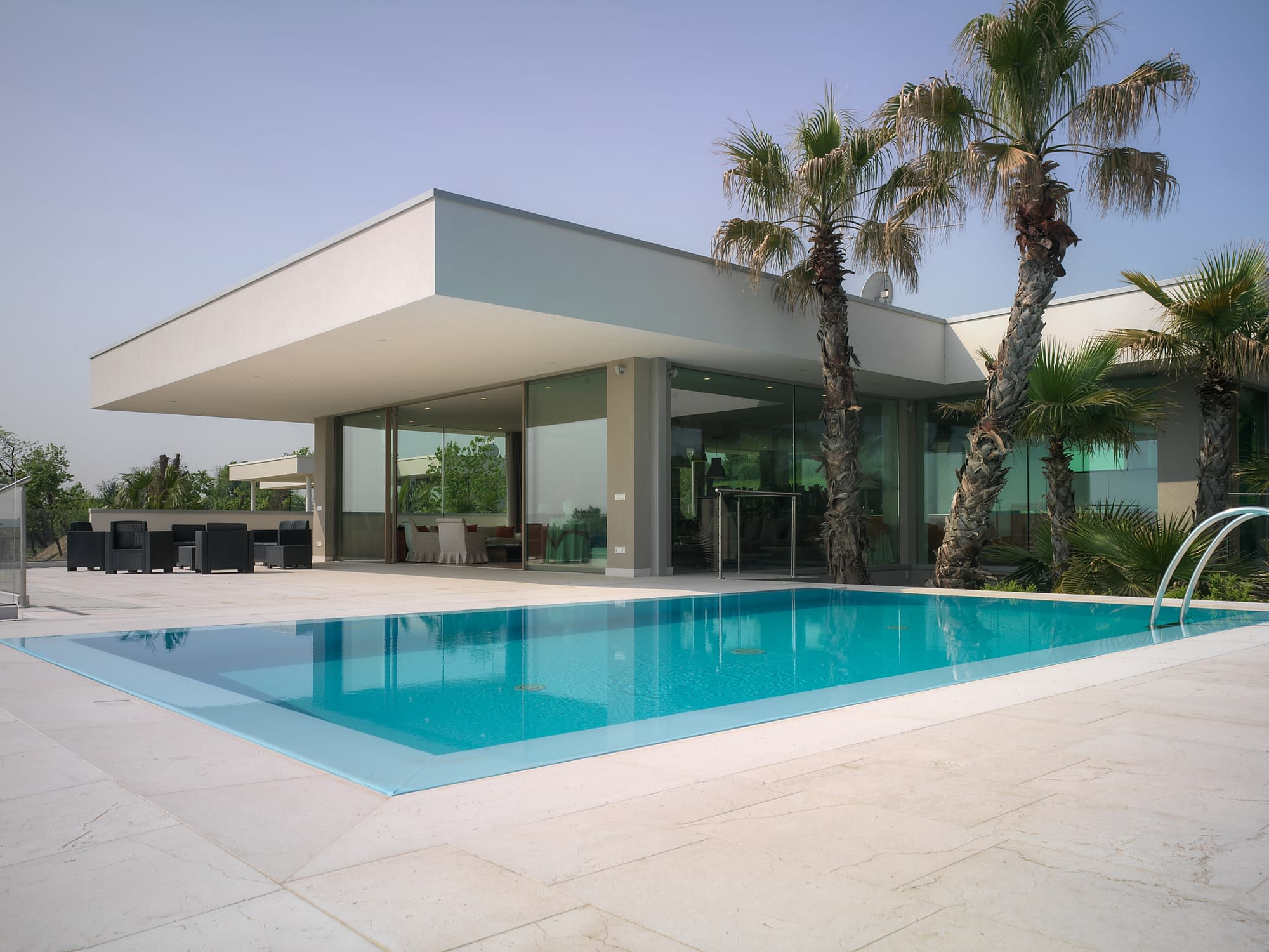 Carminati's minimal frame windows and door systems blur the line between the interior and exterior