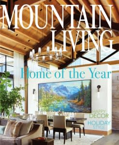 Thermally broken steel windows and doors by Brombal allow for amazing view of Park City, Utah.
